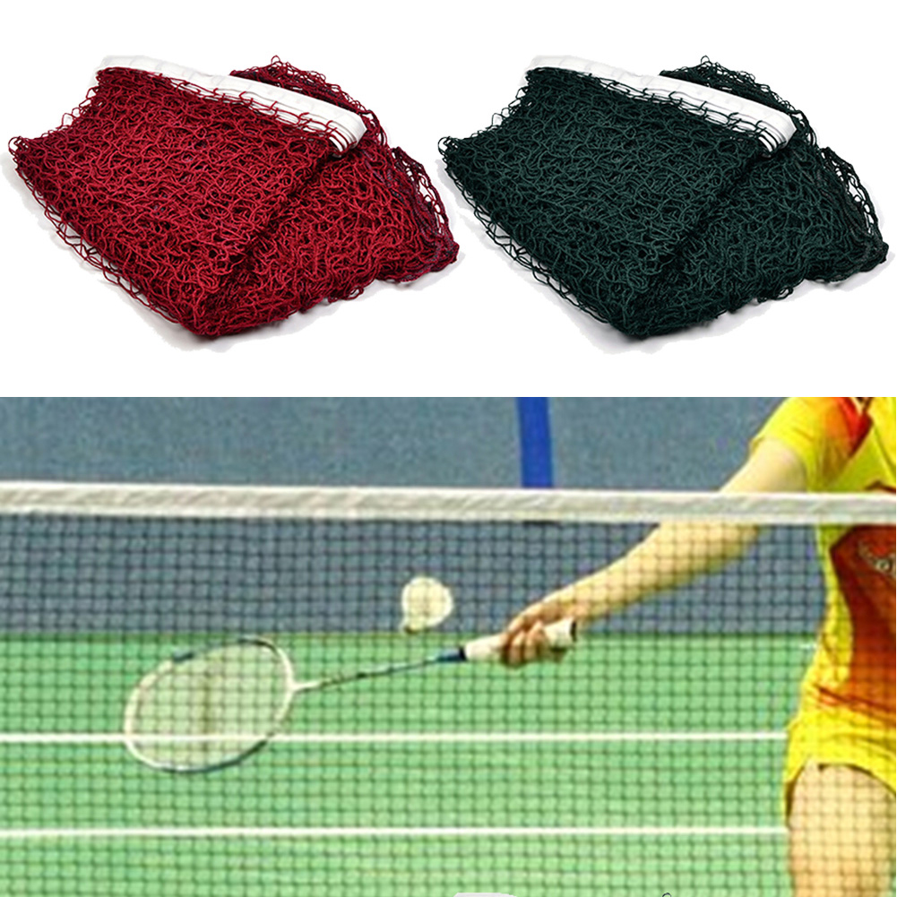 6.1x0.75m Standard Badminton Net Standard Badminton Net Portable Professional Quickstart Volleyball Tennis Net