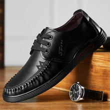Zapatos de cuero de vaca de moda para hombre Zapatos de hombre Zapatos de trabajo