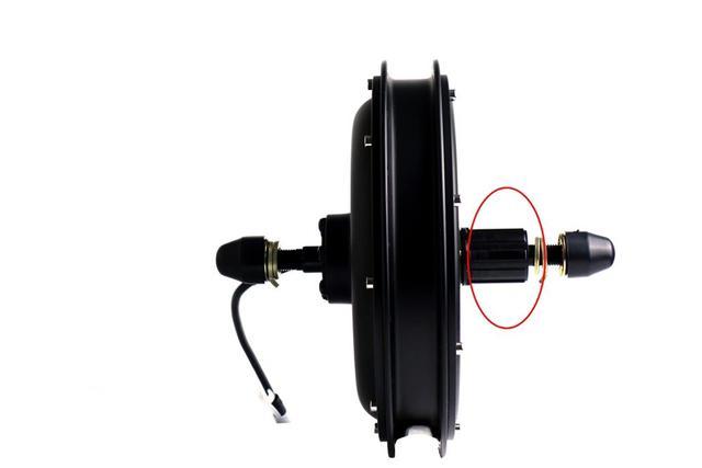 52v 2000W Кассетный Тип 8s или 9s комплект для переоборудования электрического велосипеда с 52V17ah Электрический велосипед литиевая батарея