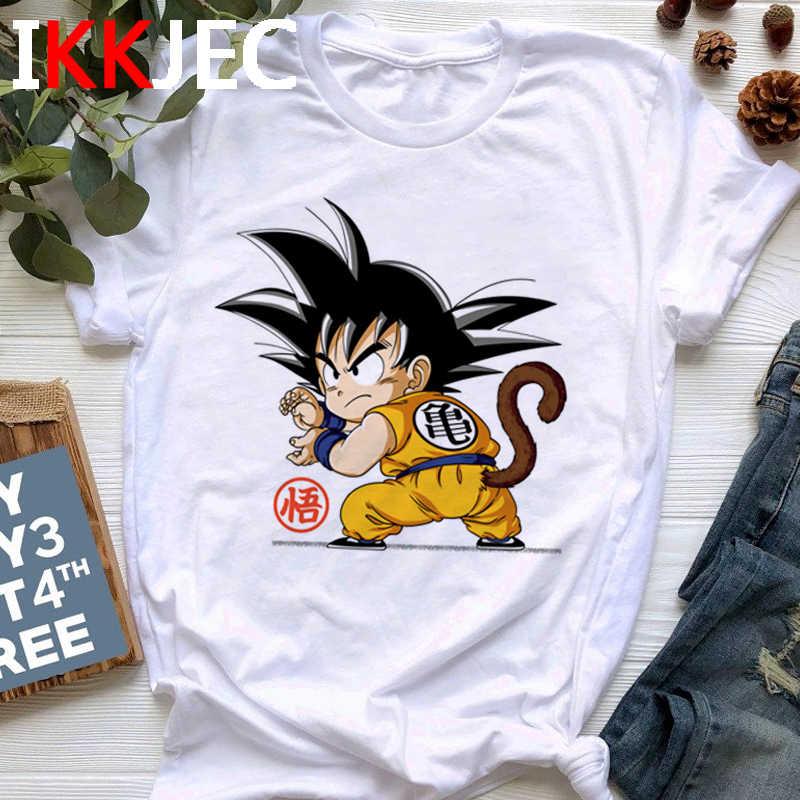 Dragon Ball Grappige Cartoon T-shirt Man Super Saiyan Koele T-shirt Mode Japanse Anime Unisex Tshirt 90 S Son Goku top Tees Man
