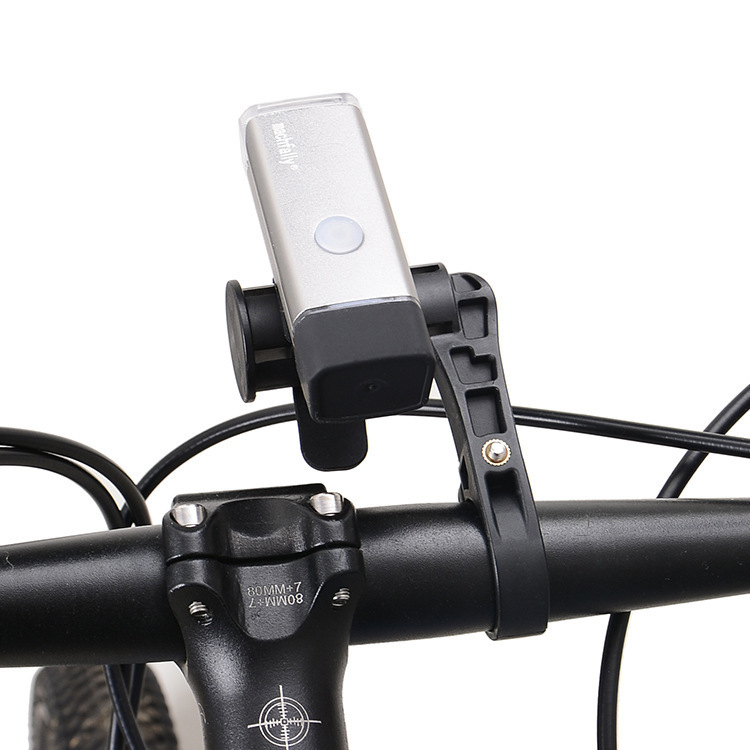 Bicycle Handle Bar Shelf Extend Rack Lengthen Lever Stopwatch Lights Additional Extension Holder Multi-functional Extension Seat