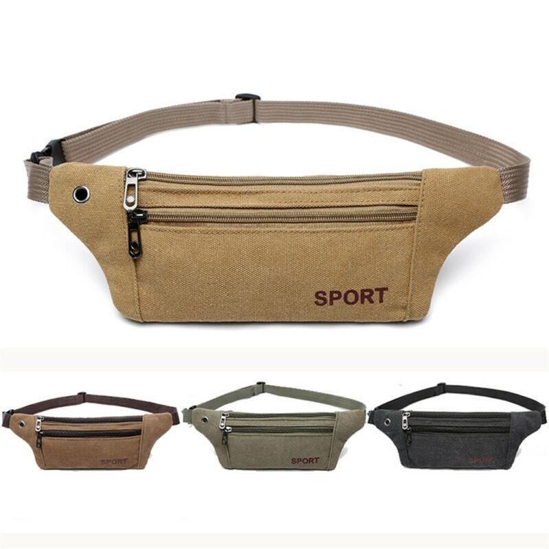 Casual Sports Men's Waist Bag Oxford Cloth Portable Outdoor Chest Bag Portable Purse