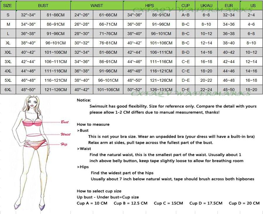 泳河通用尺码表