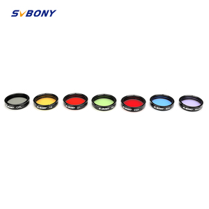 "Image 1 - SVBONY 1.25"" Moon Filter+CPL Filter+Five Color Filter Kit for Enhance Lunar&Planetary View Reduces Light Pollution Best F9135A"