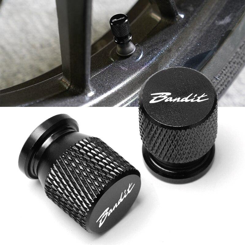 Для SUZUKI Bandit 1200 1250/S/F 250 400 650 GSF650 GSX1250 GSX1400 Мотоцикл с ЧПУ аксессуары колеса крышка на стержень клапана шины крышка
