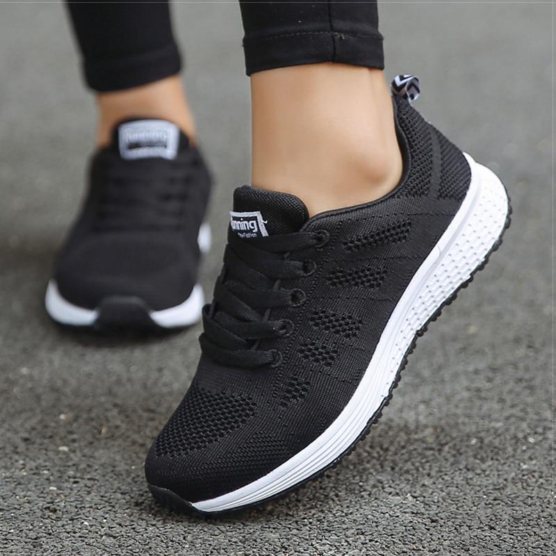 2020 New Women Shoes weightlight Sneakers Women Vulcanize Shoes Sport Basket Femme Walking White Outdoor Casual Tenis Feminino 11