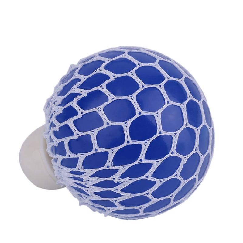 Hot-Stress Grape Balls Anti Stress Balls Squishy Balls Mesh Balls Perfect For Stress Relief 3 SET Grape Balls (Purple, Orange, B