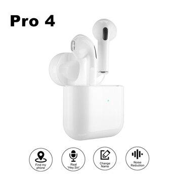 Pro 4 Bluetooth Earphones TWS HD Call Wireless Headphone HiFi Music Earbuds Sports Runing Headset For All Smart Phone