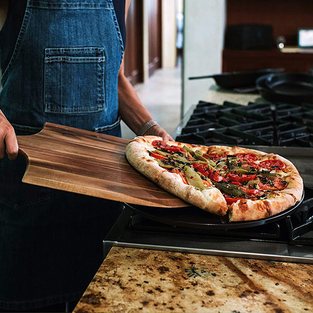 Wooden Pizza Shovel And Cutting Board  3