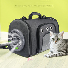 Breathable Dog Cat Carrier Bag with fan Portable Pet Puppy Travel Bags for Small Dog Cat Chihuahua Carrier Outgoing Pets Hand dannykarl portable pet bag dog carrier bags black orange cat carrier outgoing travel breathable 2019 handbag dog out portable