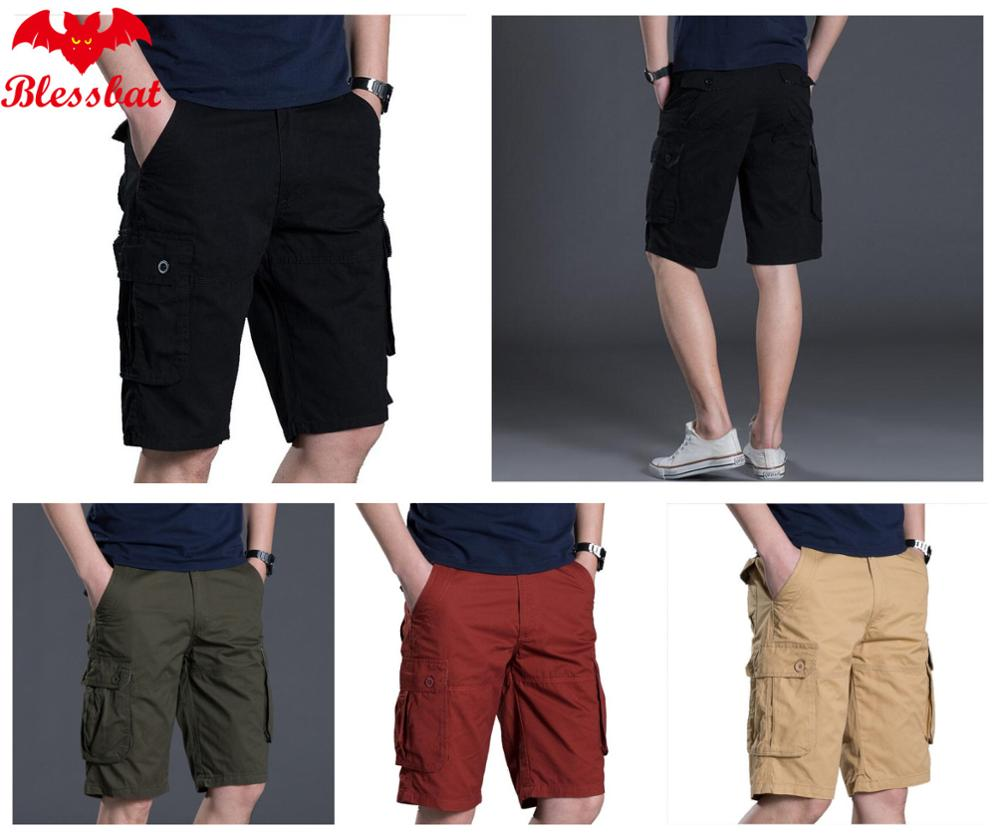 Military Cargo Shorts For Men New Army Camouflage Shorts Brand 2018 Cotton For Men Casual Shorts Working Loose Load Pants