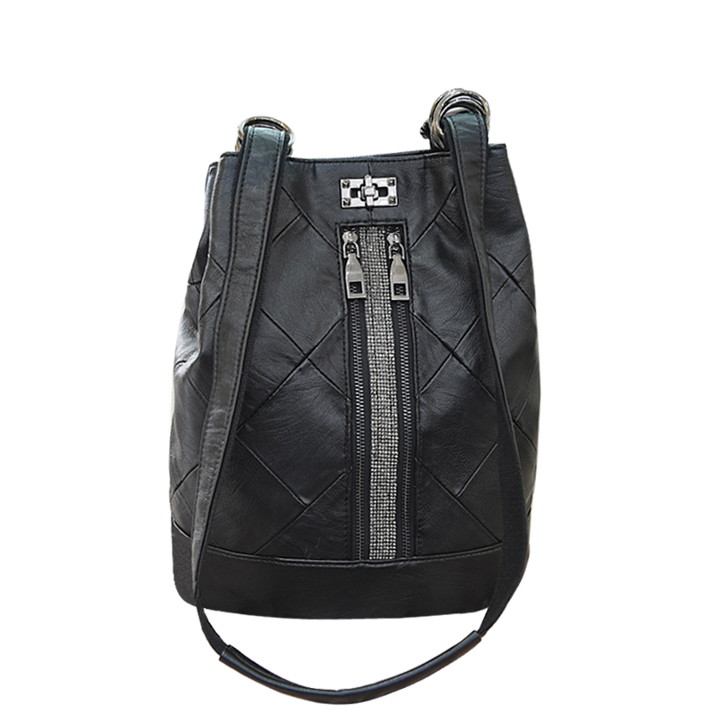 POMELOS small female backpack 2019 new split leather function anti theft fashion womens bag bagpack back pack
