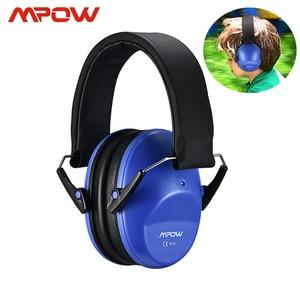 Image 1 - Mpow hp046 어린이 안전 귀 muffs 소음 감소 슈터 청력 보호 nrr 25db 어린이를위한 전문 소음 감소