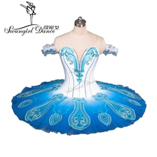 New Arrival! white/blue swan lake ballet tutu costumes professional tutus dance tutuBT9083