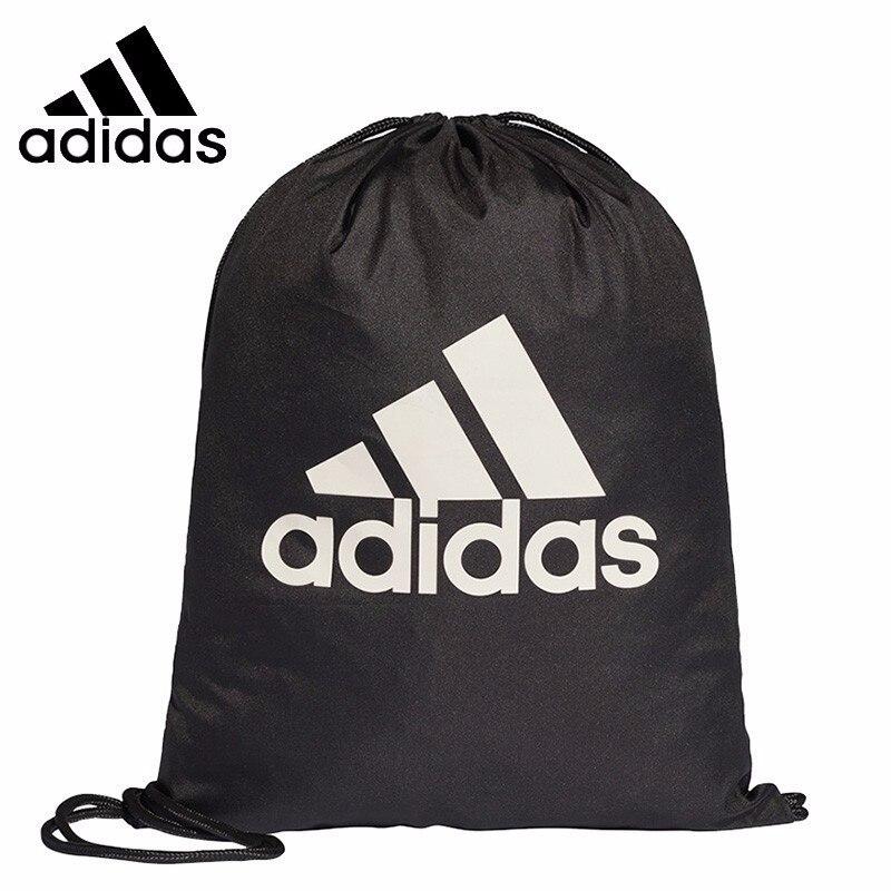 Original Adidas  Unisex General Gym Backpack Winter New Pattern Motion Shoulders Package Beam Pocket Pulling Rope Sports Bags