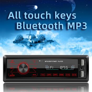 Car Multimedia Player M10 Car Bluetooth MP3 Player In Dash AUX-in Radio Receiver Head Unit LCD Display Car ElectronicsAccessory image