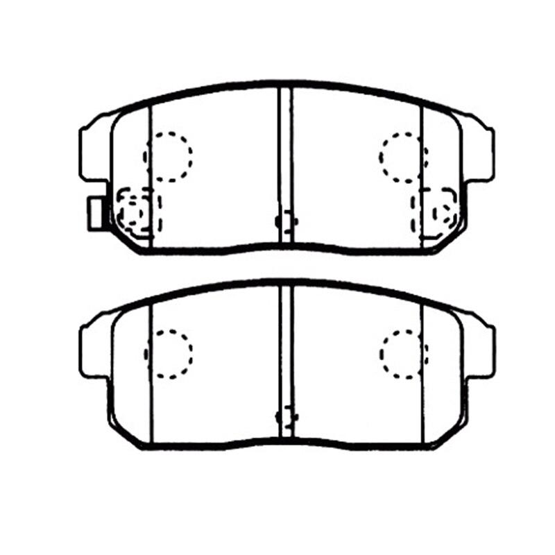 цена на AKEBONO pads brake disc rear FOR Nissan Primera P12 01-05 AN-669WK