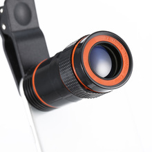 8x Zoom Optical Telescope Mobile Phone Camera Lens with Clip for iPhone Samsung HTC Huawei Sony GV99 цены