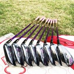 Nuova Golf Club Maruman Maestà Prestigio Delle Donne Golf Set da Stiro 5-9 Pw Aw Sw Golf Pozzo Della Grafite di Turbine Trasporto Libero