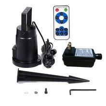 Светодиодный светильник для лазерного проектора, ландшафтный сад, вечерние, на Рождество, Хэллоуин, на открытом воздухе+ контроль