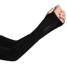 Длинные перчатки защита от солнца УФ Защита рук Защита рукава лед шелк солнцезащитный рукав уличные руки теплые напальчники