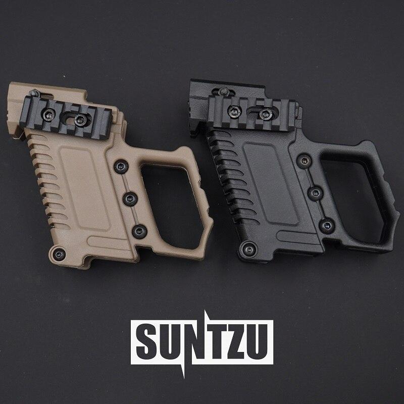 Tactical Pistol Carbine Kit Glock Mount Quick Reload For CS G17 18 19 Hunting  Shooting Gun Accessories