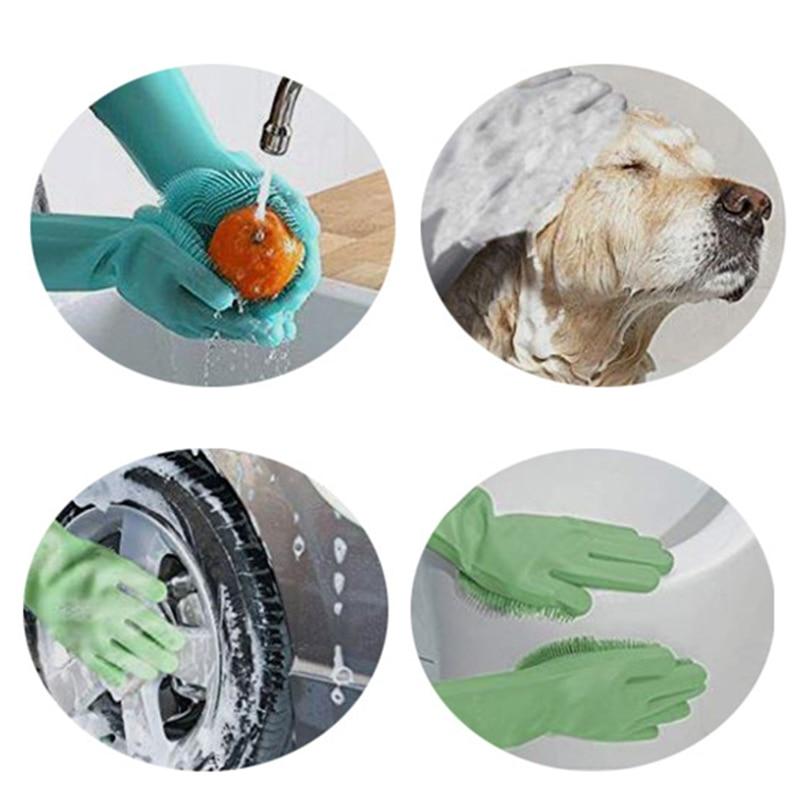 Multiple usage of Magic Dishwashing Gloves