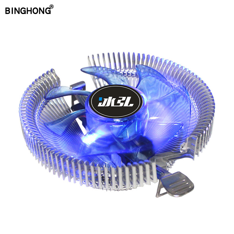 Heat Sink All Aluminum CPU Cooler Fan 3pin For Intel And Amd LGA 1150 1151 1155 1156 775  Fm1 Fm2 Am2 Radiation