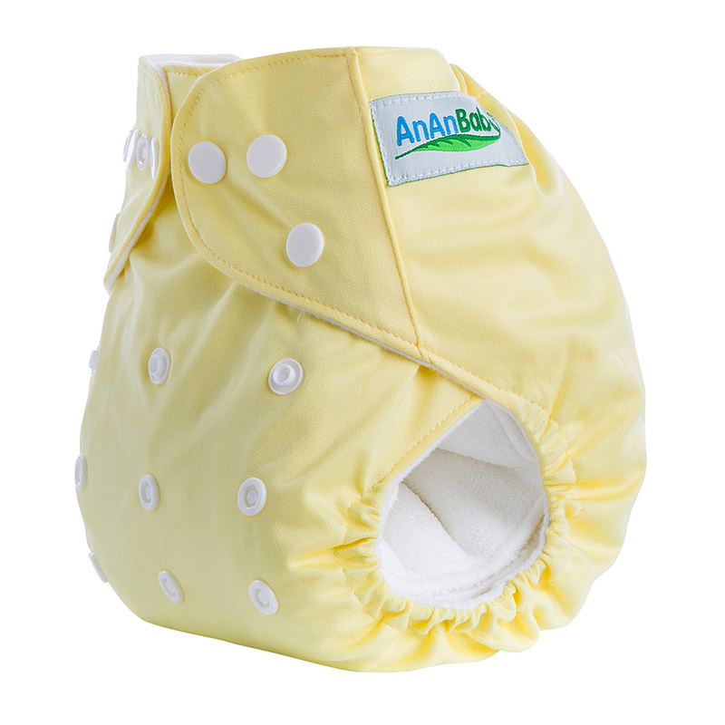 50Pcs/Lot Organic Baby Cotton Cloth Nappies Diapers A Series Without Insert Suit 3-15KG And You Can Choose A Suit