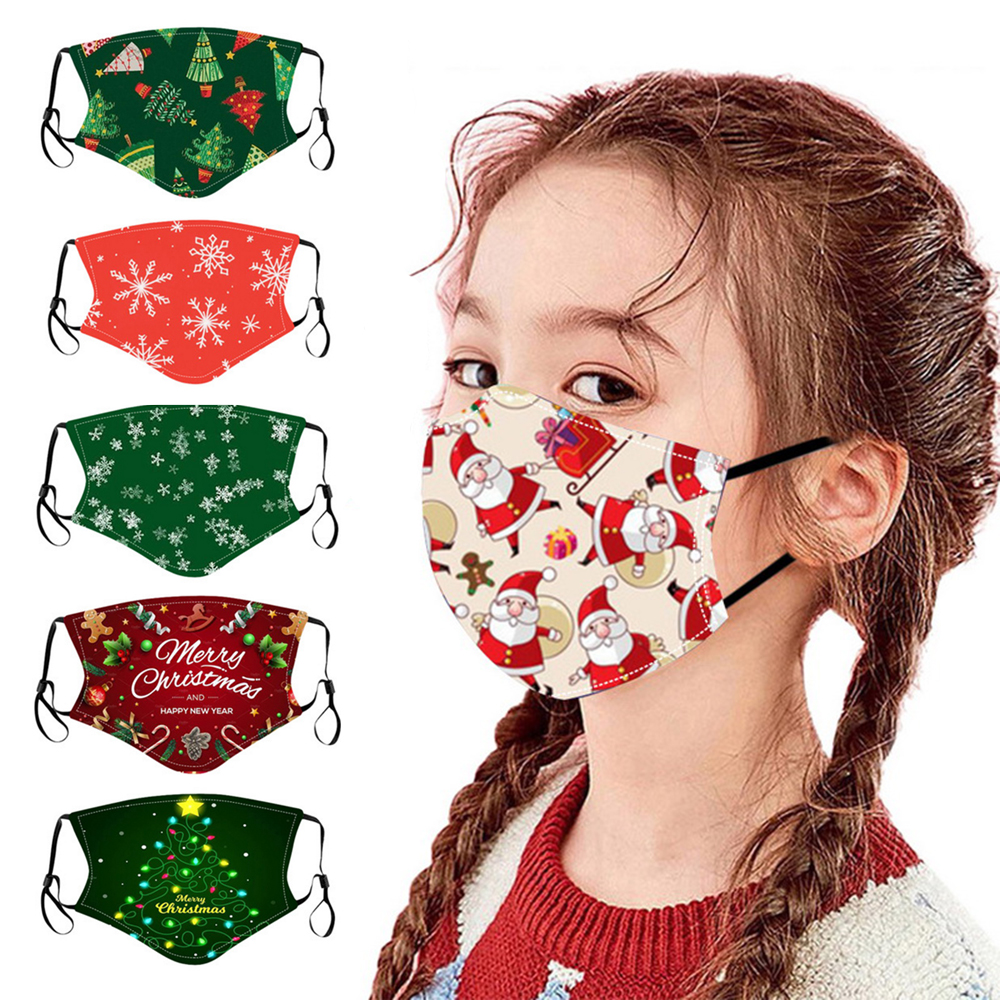 Christmas For Men And Women Riding Breathable warm With ears Headscarf Mask Windproof Outdoor Sports Bandanas 2020 1