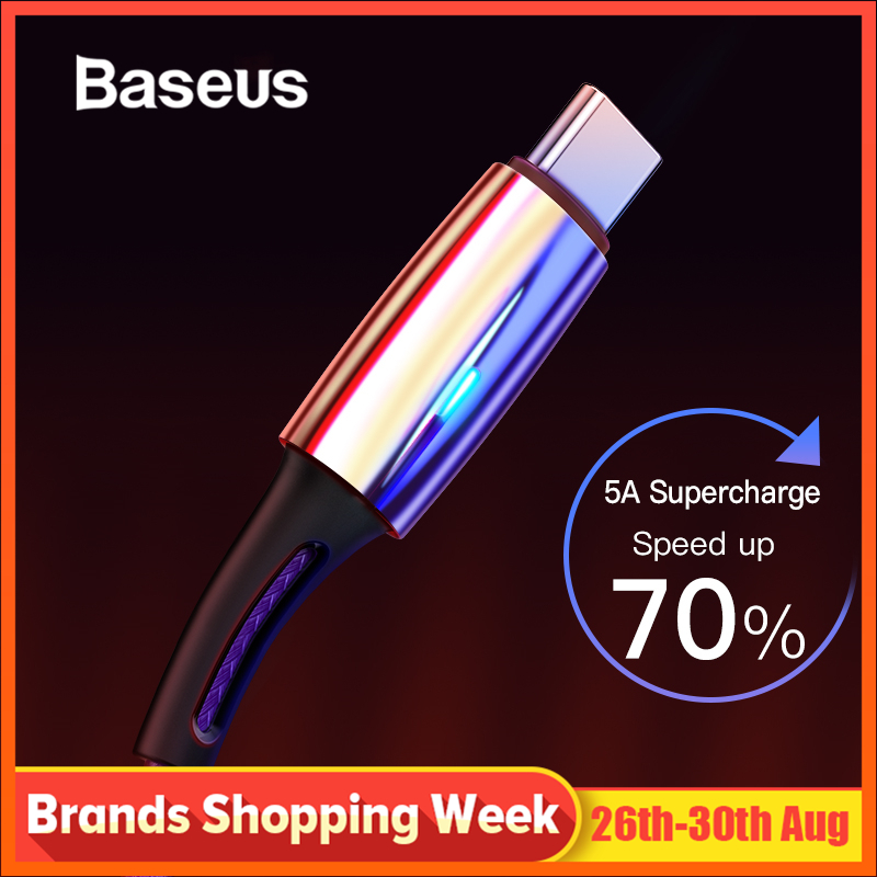 Baseus C-Cable Usb c-Type Huawei P20 Quick-Charge 5A for Lite-Pro