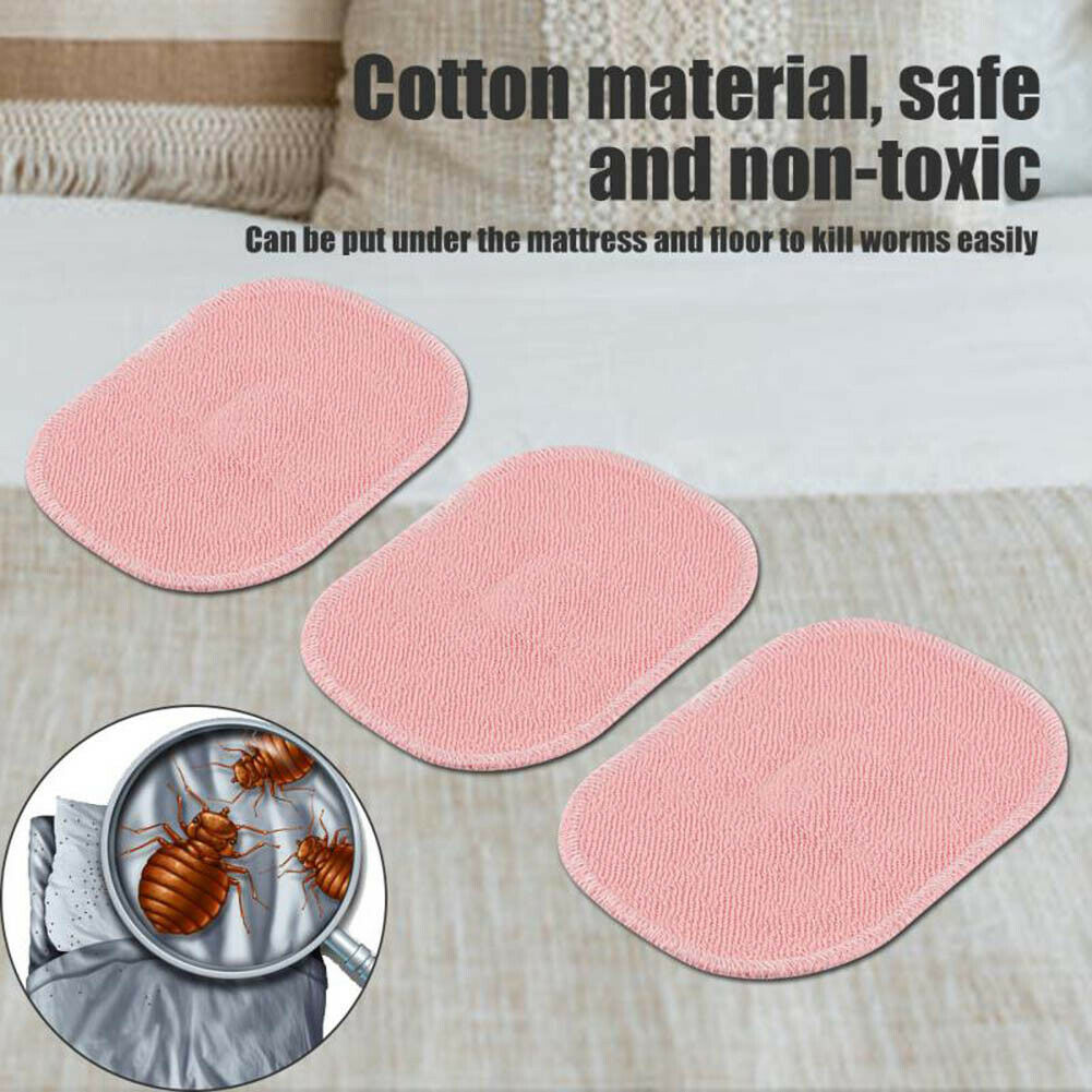3/5Pcs Dust Mite Killing Pad Safe Cotton With Spice Anti-mite Pads Cushion For Home Sofa MF999