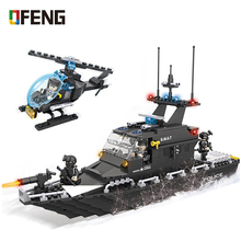Police station SWAT  building blocks Armored car jeep Military Series 3D Model Figure Brinquedos city Boy Toy Children Gift 6511 police station swat hotel de police doll military series 3d model building blocks compatible with lego city boy toy hobbies gift