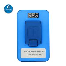 JC P11 BGA110 NAND Programmer for iPhone 8 8P X XR XS XSMAX 11 Pro Max NAND Flash for NAND SYSCFG Data Modification Read Write
