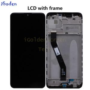 Image 2 - Original para xiaomi redmi 8a display lcd com moldura da tela de toque painel digitador assembléia para xiaomi redmi 8a 8 lcd