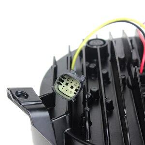 Image 5 - Ronde LED 9inch Koplamp voor Jeep Wrangler JL 2018 2019 halo hi low beam en JL Sport connector plug in play