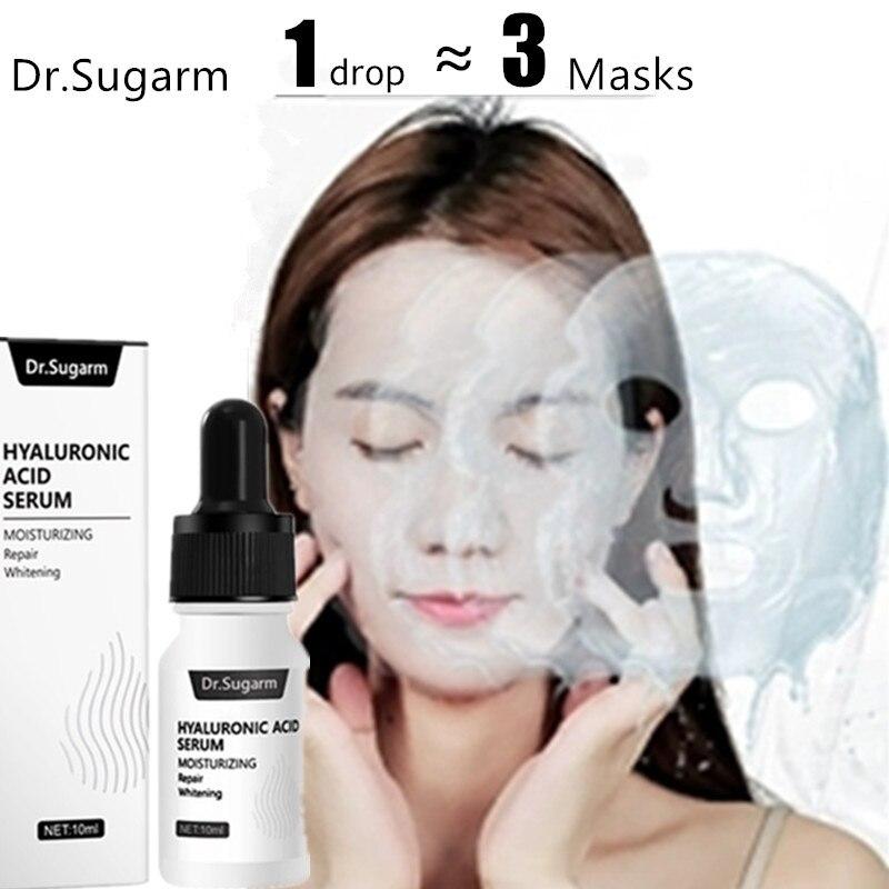 Hyaluronic Acid Face Serum Skin Care Essence Shrink Pore Moisturizing Repair Whitening Anti-aging Dry Face Cream