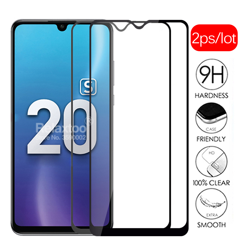 2pcs On Honor 20 S Protective Glass Screen Protector For Huawei Honor 20S Glass 6.15