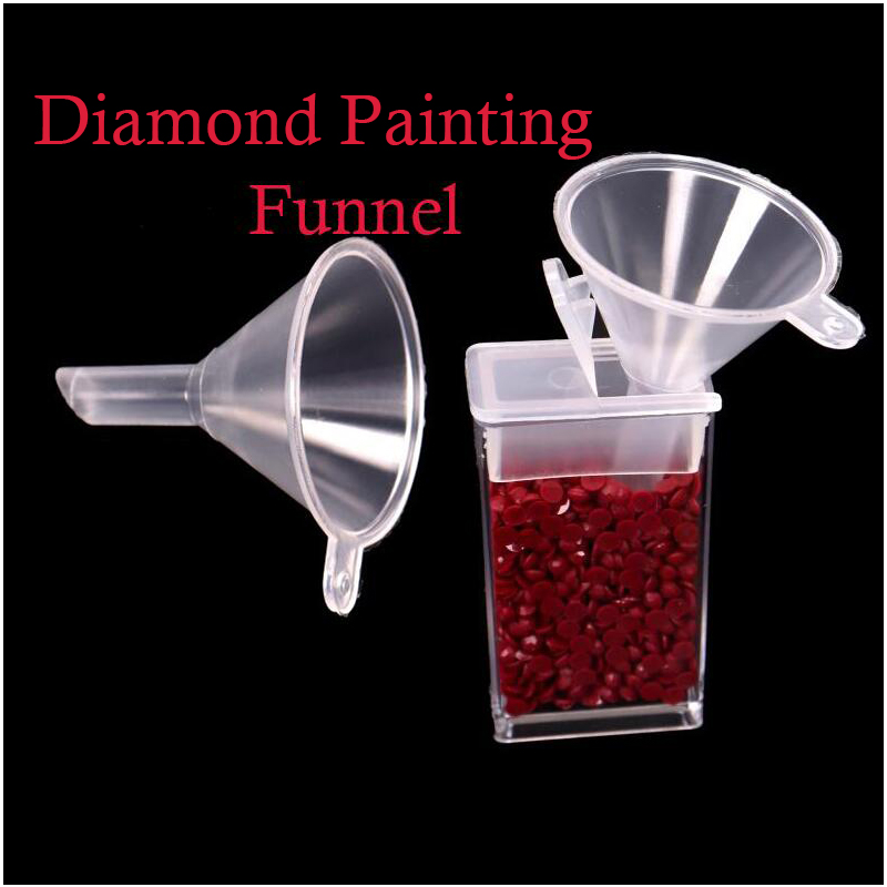 Square Diamond Painting Accessories Funnel Bead Container Diamond Embroidery Environmental Protect Tool