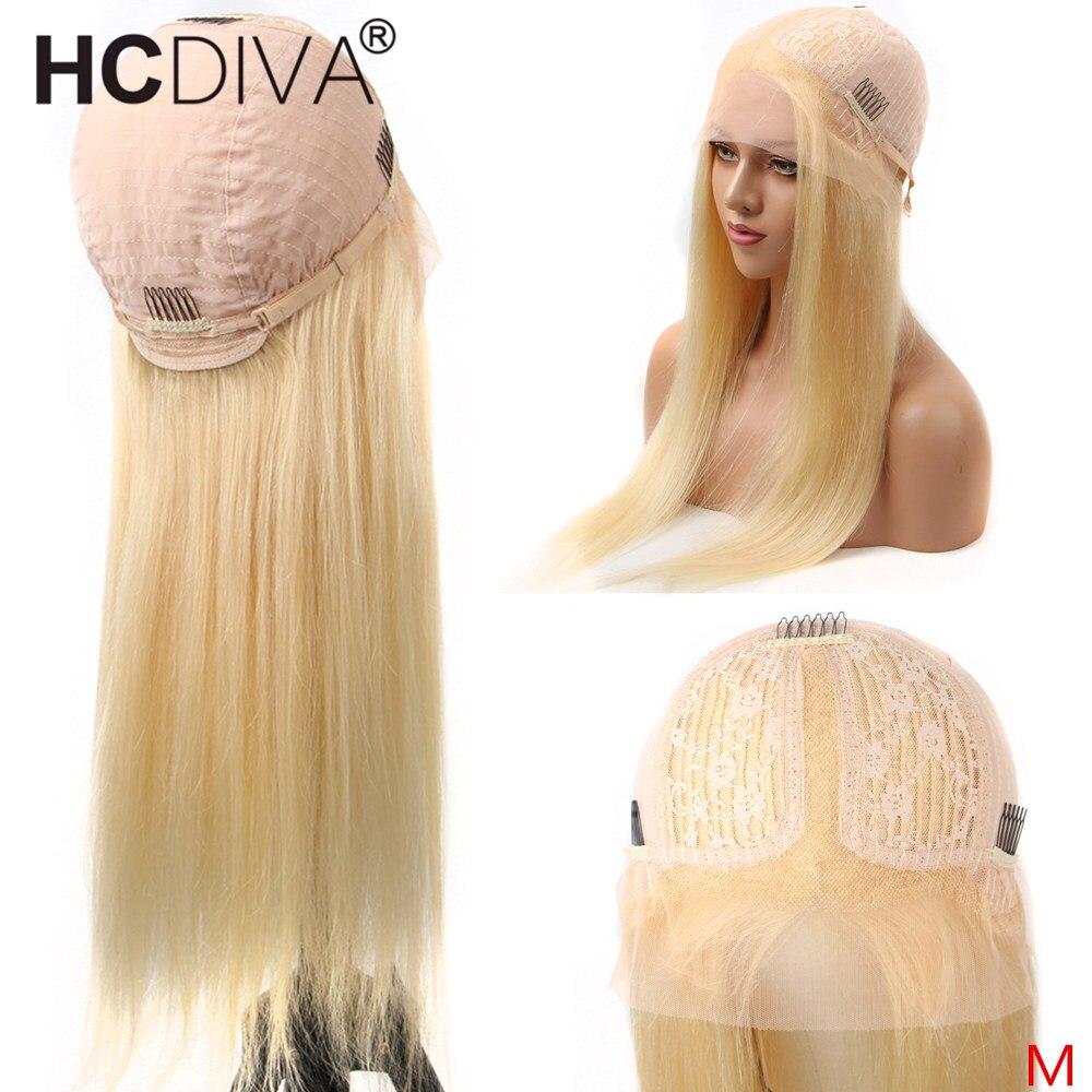 Parte do meio do laço peruca 28 polegada 613 loira reta parte do laço peruca remy brasileiro cabelo humano em linha reta pré arrancado com o cabelo do bebê