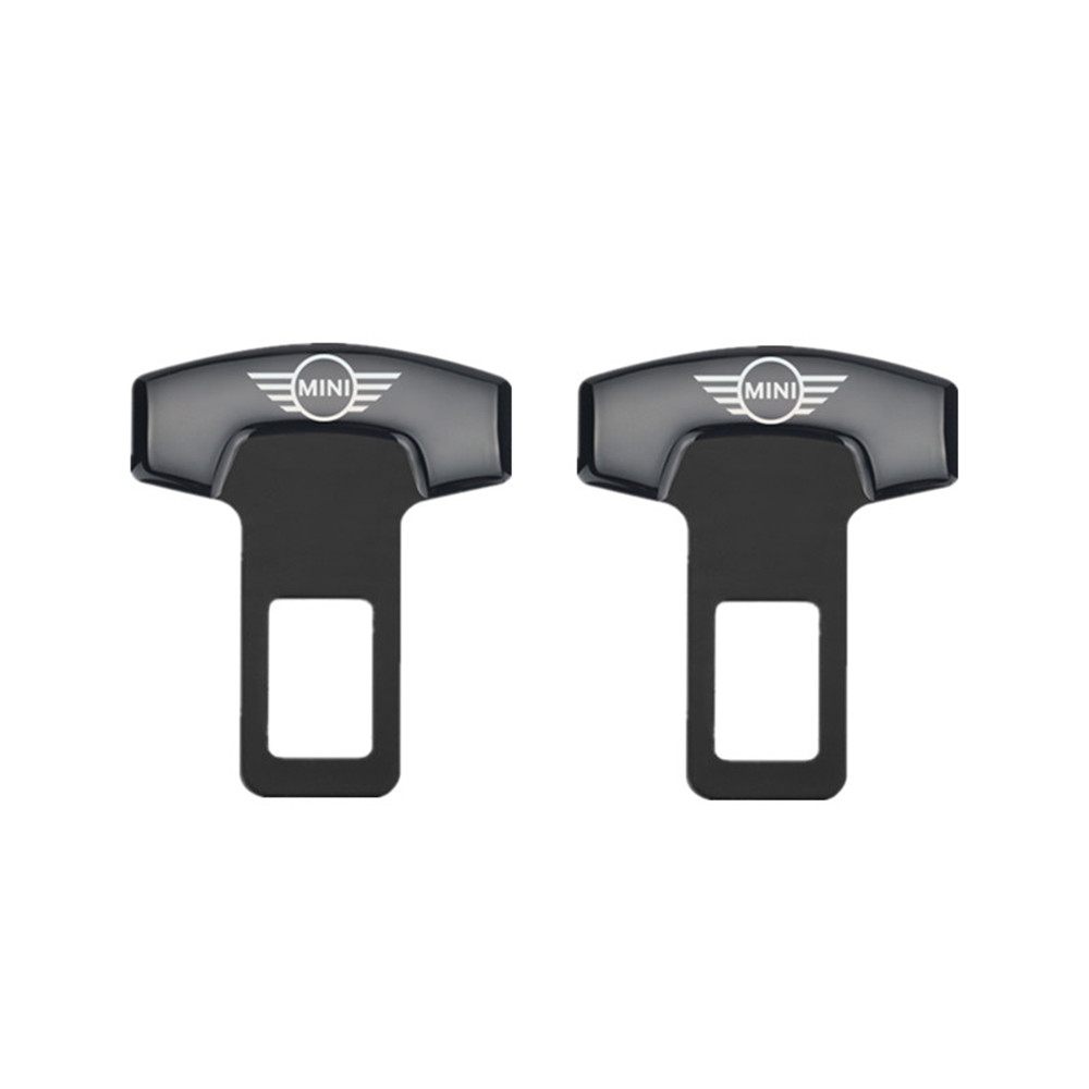 2pcs Car Belt Buckles Car Safty Belt Alarm Canceler Stopper For Mini Cooper Countryman Clubman F54 F56 F55 F60 R60 R61