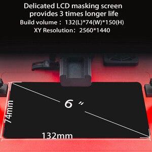 Image 3 - Kelant Orbeat Plus D200S 2k SLA 3D 프린터 UV 수지 데스크탑 impresora 레이저 405nm 3.5 lcd 화면 DLP 3d 프린터 diy 키트