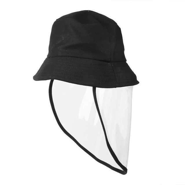 Protective Face Shield Protective Sunproof Fisherman's  Hats with Anti-Saliva Transparent Face Shield Protection Equipment 3