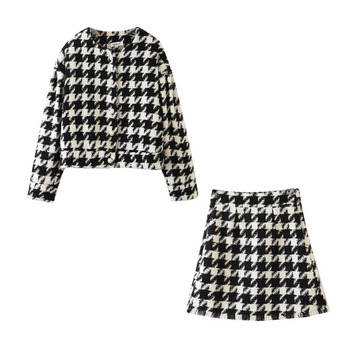 Ladies Pearl Button Suit-Sets