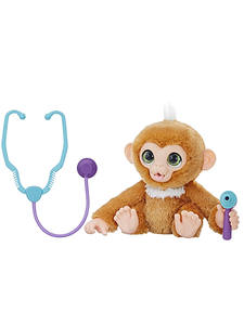 Hasbro Toy Furreal Can-Make-A-Sound Plush Little-Monkey Birthday Christmas-Present Stuffed