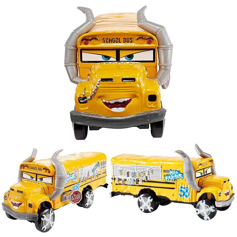 Image 2 - Cars 3 Diecasts Toy Vehicles Miss Fritter Metal Alloy Model Car Toy Toy Gift-in Diecasts & Toy Vehicles from Toys & Hobbies
