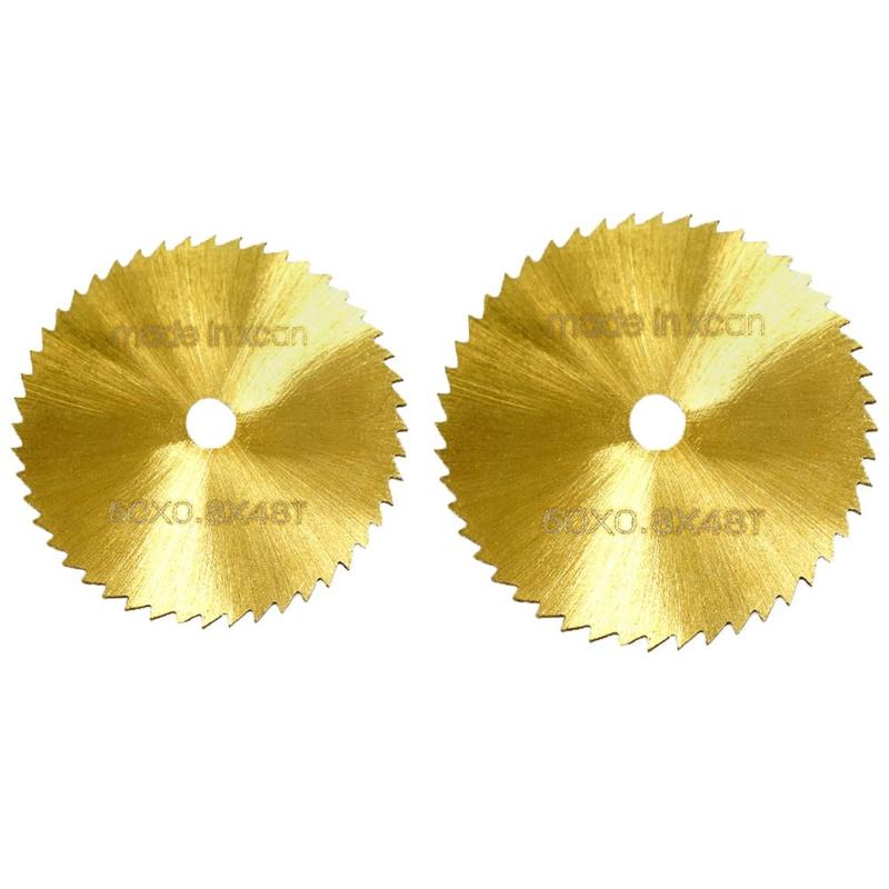 HSS High Speed Steel Gold Small Saw Blade Sawtooth Sharp Time-Saving Labor-Saving 6mm Inner Hole Wood Cutting Disc Wheel