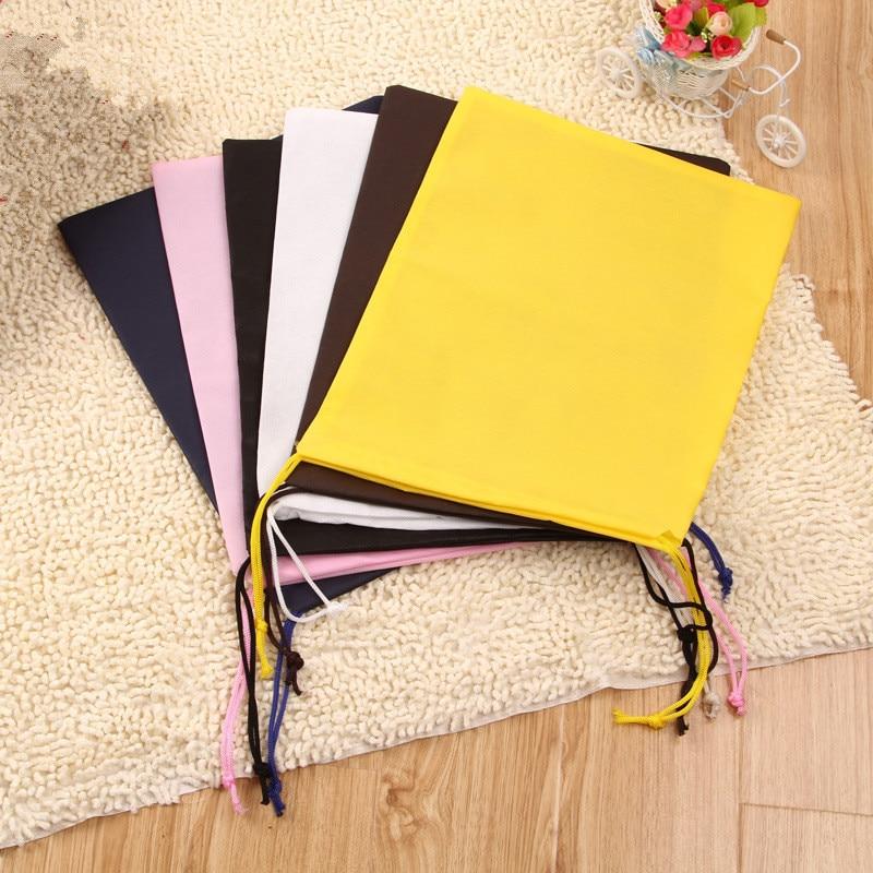 Cute Non-woven Storage Bag For Clothing Shoes Underwear Kawaii Organizer Bag Drawstring Bag Housekeeping High Quality 31CM*42CM