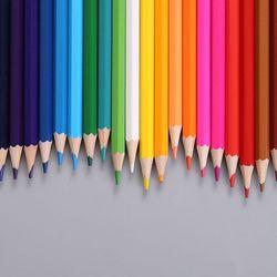12/24 kolor ołówki naturalny kolor drewna ołówki rysunek ołówki do szkoły biuro malowanie artystyczne szkic dostaw -