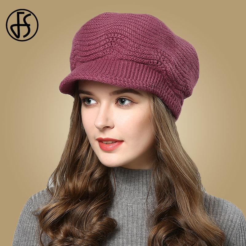 Baby Hat in Autumn and Winter Cartoon Newborn Rabbit Wool Beanie Cap L1Y